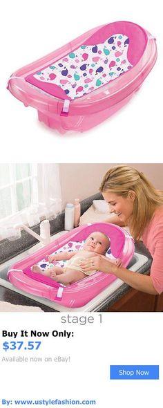 Baby Bath Tubs: Summer Infant Sparkle N Splash Newborn To Toddler Bath Tub, Pink BUY IT NOW ONLY: $37.57 #ustylefashionBabyBathTubs OR #ustylefashion