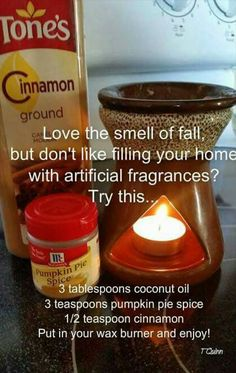 ♡ the smell of FALL,