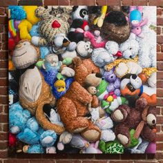This Guy Quit His Job To Paint Stuffed Animals With Intricate Detail - UltraLinx