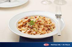 Farfalle cu ton proaspat - www.foodstory.ro