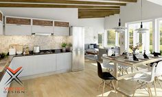 Kitchen/Seating are Design