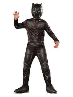 Black Panther Captain America Civil War Fancy Dress Up Halloween Child Costume Black Panther Halloween Costume, Halloween Costumes For Teens, Halloween Kids, Party Costumes, Cosplay Costumes, Children Costumes, Cheap Halloween, Boy Costumes, Costume Ideas
