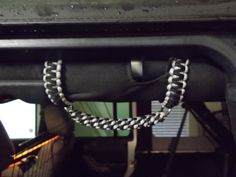 Paracord Roll Bar Grab Handles Jeep Wrangler JK-TJ Choose from over 25 colors on Etsy, $32.00