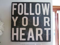 Follow your heart. It's such a cliché. But when you truly live by it, when you actually walk away from a life you've taken years to build, one that doesn't fit and feels wrong, so you can finally follow your heart—even if you're not sure it will work out and you have no safety net—that's no small thing.