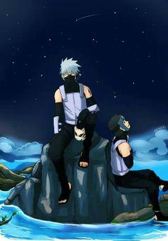 Yamato & Kakashi (anbu black ops version) From #Naruto