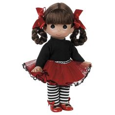 """Fashion Diva"", Collectible 12-inch Vinyl Precious Moments Doll. Our little Fashion Diva is just as cute as a button and ready to bring a smile to your face! $35.99 at FlossiesGifts.com. See it here: http://www.flossiesgifts.com/Precious_Moments_Fashion_Diva_12in_Doll_4684_p/pmd-4684.htm or see them all at http://www.flossiesgifts.com/Precious_Moments_Dolls_s/8.htm"