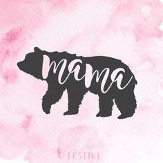 LISTING DESCRIPTION ______________________________________ ⭐️ Mama Bear SVG Cut File, Silhouette SVG Cricut Download, DFX, Mom Life, Iron On, Graphic Overlay, Bear Vector, Mommy and Me ⭐️ This is a hand-lettered, hand-drawn instant download re-scalable file, designed by me. Perfect for iron-on tshirts, HTV (heat transfer vinyl), vinyl projects, JPG prints... anything your heart desires! An SVG cut file allows you to use your cutting machine and resize/recolor and way you choose…