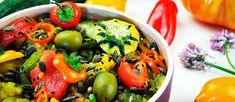 Piperade végétale aux graines de courges grillées
