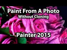 Corel Painter Tutorial - Paint from a Photo Without Cloning Corel Painter, Art Tutorials, Painting Tutorials, Digital Art Tutorial, Computer Art, Photoshop Tutorial, Art Tips, Photo Manipulation, Concept Art