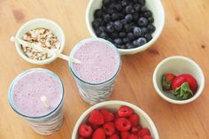 Soy / Berry Smoothies