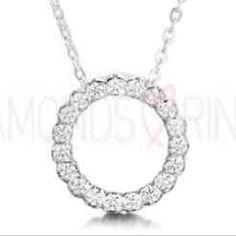 Circle of diamonds pendant @ www.diamondsandrings.co.uk
