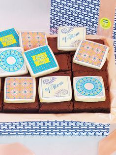 Modern Bite - Mother's Day Tile Cookie and Brownie Box
