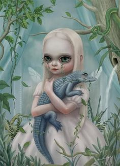 red-lipstick:    Hsiao-Ron Cheng - Crocodile Is Eating My Sorrow     Digital Arts