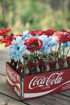 cute, but maybe a cool looking crate instead of the coke thing.