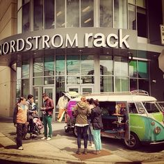 OutCold 1963 VW Panel Bus: Nordstrom Rack Tour