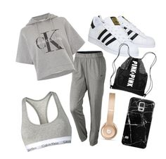 """lassy"" by kiiit-thy on Polyvore featuring NIKE, Calvin Klein, adidas, Beats by Dr. Dre and Casetify"