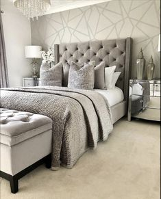 my home bedroom decor Simple Bedroom Design, Master Bedroom Design, Home Bedroom, Bedroom Decor, Bedroom Furniture, Office Furniture, Furniture Ideas, Furniture Stores, Cheap Furniture