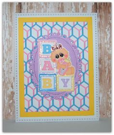 Ann Greenspan's Crafts: Baby Themed Die Cuts from Green Duck Sales