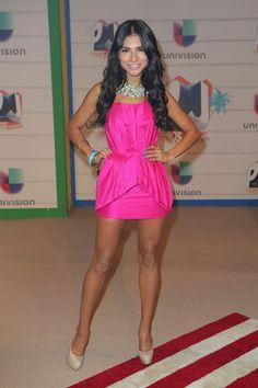 Premios Juventud 2013 Red Carpet: Alejandra Espinoza