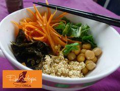 Raw macro bowl. #rawyoginisonia #iloveitraw #rawJapanesefood
