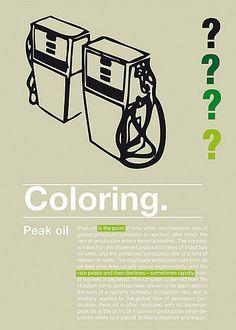 Peak oil / Coloring project sur Flickr: partage de photos!