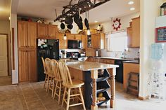 Does a kitchen make or break the deal? 164 Gap Rd features a beautiful kitchen with ample storage and extra seating! Call Kimber Parker at Team Properties Group for your showing 307-670-2750