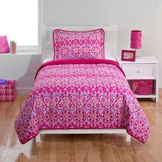 Swirls Bedding Quilt Set - Walmart.com