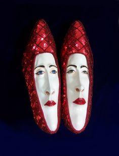 My Paisley World: Gwen Murphy's Foot Fetish Sculptures http://mypaisleyworld.blogspot.com/2014/04/gwen-murphys-foot-fetish-sculptures.html