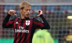 Após quatro temporadas defendendo a camisa do Milan, o meia japonês Keisuke…