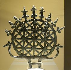 Hittite sun standard from Alacahöyük, 2500 BC. One of the most recognized square lattice geometric model. Artifacts found from The Museum of Anatolian Civilizations in Ankara, Turkey. (Photo by Marko Manninen)