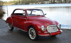 Bid for the chance to own a 1958 DKW Sonderklasse Pillarless Coupe at auction with Bring a Trailer, the home of the best vintage and classic cars online. Bmw Classic Cars, Classic Cars Online, Vintage Cars, Antique Cars, Auto Union, Engine Rebuild, Car Travel, Small Cars, Car Insurance