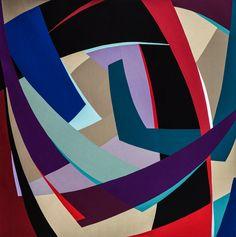 Edge, art quilt by Marina Kamenskaya
