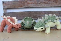 Dinosaurs Crochet Amigurumi
