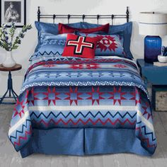 Save - on all Western Bedding and Comforter Sets at Lone Star Western Decor. Your source for discount pricing on cowboy bed sets and rustic comforters. Rustic Comforter, Comforter Sets, Dream Bedroom, Home Bedroom, Bedroom Ideas, Bedrooms, Master Bedroom, Bedding Collections, Home Collections