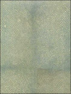 Anya Larkin, Shagreen Celadon, http://www.eadeswallpaper.com  Maybe the powder room's ceiling...