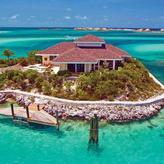 I lived right around the corner from this little island! Fowl Cay, Bahamas.. #Bahamas #Travel