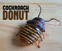 Give your guests the creeps with these donuts disguised as cockroaches!  But they won't be creeped out for long once guests dig their teeth into the mouthwatering...