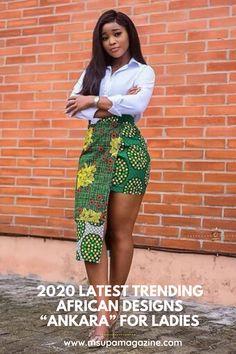 ankara stil 2020 Simple and Lovely Ankara Styles Short African Dresses, Latest African Fashion Dresses, African Print Dresses, African Print Fashion, Ankara Fashion, African Prints, African Clothes, African Skirt, Nigerian Fashion