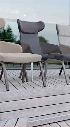 AuBergewohnlich Stern Stan Ohrensessel Aluminium/Textilene