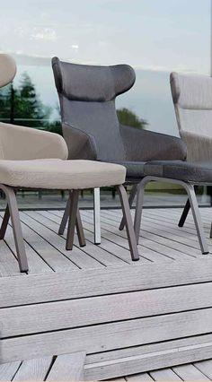 Stern Stan Ohrensessel Aluminium/Textilene
