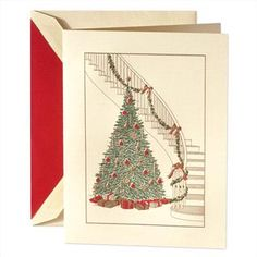 Crane and Co. Holiday Card- custom cards are on special until the end of September.  Parlett's Paper Expressions