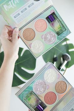 Physicians Formula Butter Collection palettes - click through to read the review and demo! #beautyblogger #makeup #drugstoremakeup #physiciansformula #ad