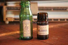 Garrafas de farmácia (etiquetas Vintage) (foto 3)