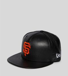 Giants leather cap Caps Game 96bb5ff2f01