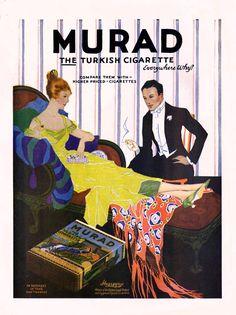Murad Cigarettes -1918B