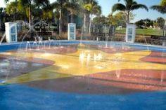 Spray Park at Mackle Park Marco Island FL