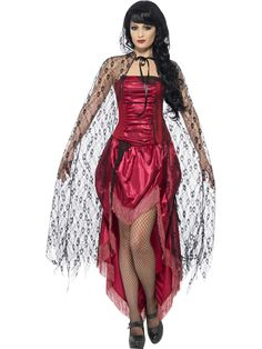 You can buy a Women's Gothic Lace Cape for Halloween parties from the Halloween Spot. Complete any Gothic costume with this black lace cape for Halloween. Costume Halloween, Halloween Pas Cher, Halloween Costume Accessories, Halloween Party, Halloween Vampire, Adult Halloween, Halloween Season, Witch Fancy Dress, Halloween Fancy Dress