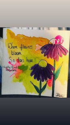 E23AD2A6-A4EC-4AF8-8173-A273E5F9A6EB Paint Pens, Watercolor Paper, Bloom, Ink, Frame, Creative, Illustration, Quotes, Cards