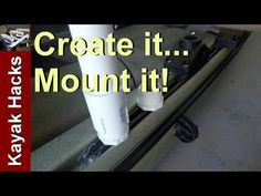 """How to make a PVC """"Gear Head"""" track adapter for kayak fishing (Option - How . - How to make a PVC """"Gear Head"""" track adapter for kayak fishing (Option – How to make a PVC - Kayak Fishing Gear, Fishing 101, Fishing Quotes, Fishing Girls, Fishing Life, Trout Fishing, Fishing Boats, Fly Fishing, John Boats"""
