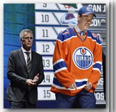 A classic moment in Edmonton Oiler history. McTavish and McDavid. No words needed. Photo: (Steve Mitchell-USA TODAY Sports)